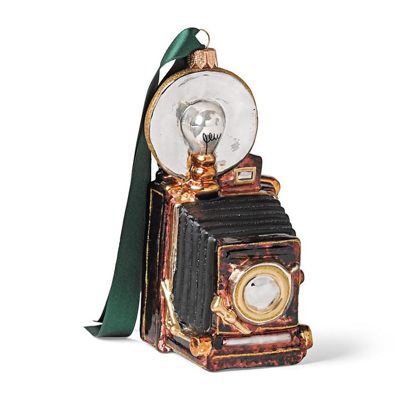 Vintage Camera Christmas Ornament
