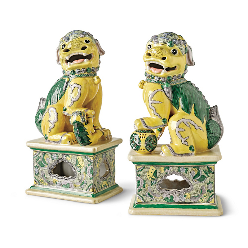 Imperial Foo Dogs, Set Of 2