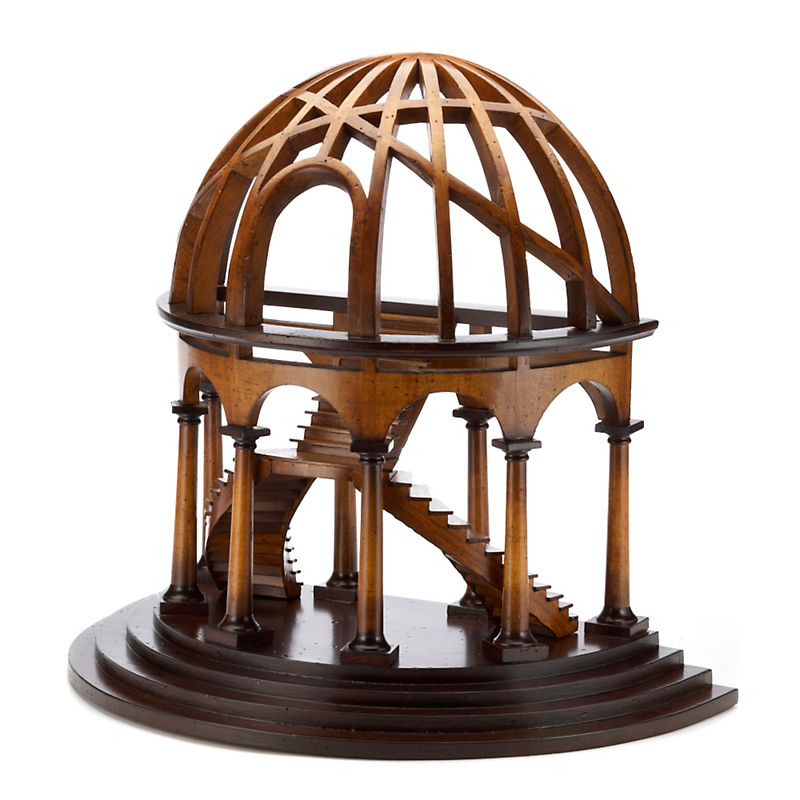 Architectural Demi-Dome Model