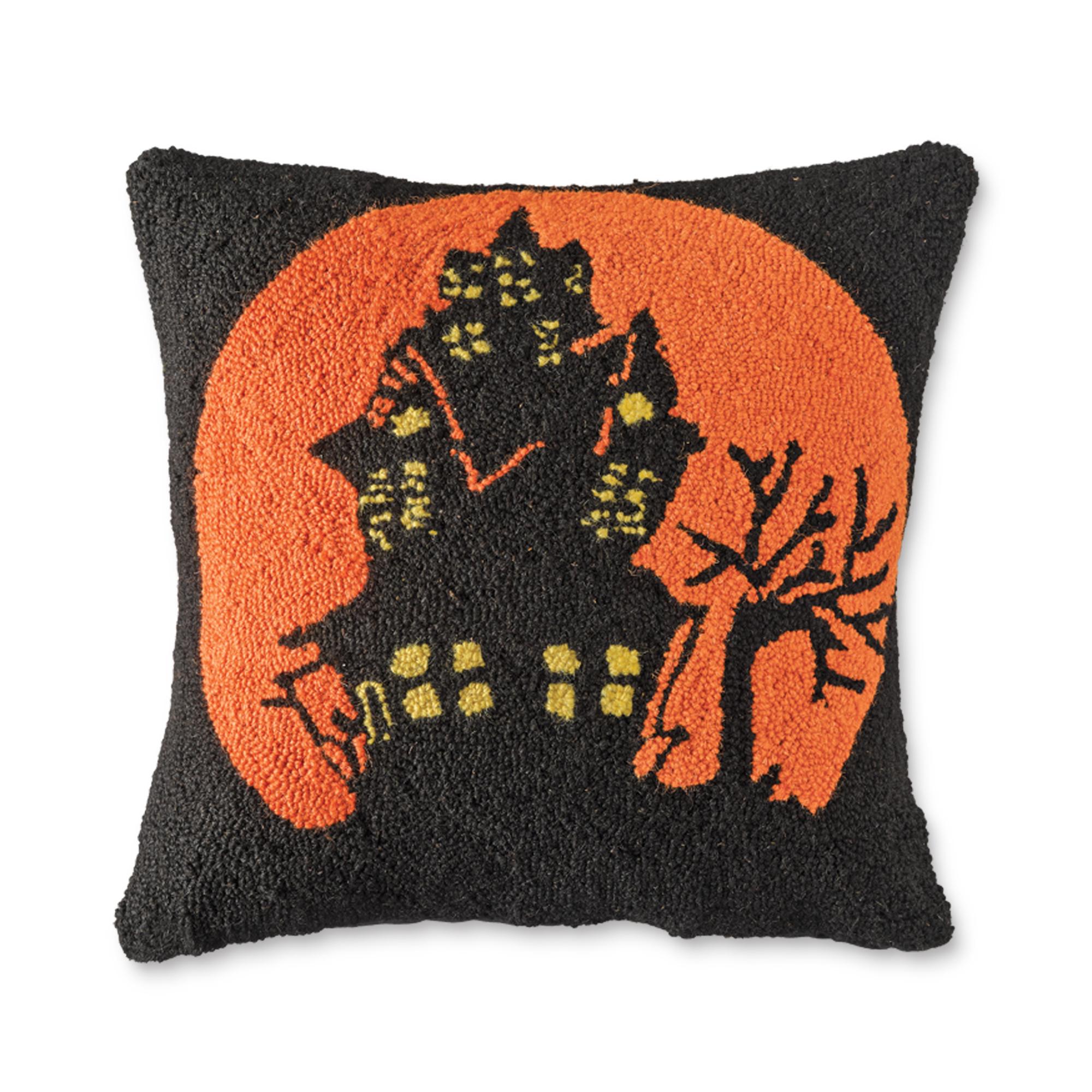 Throw Pillows Home : Haunted House Pillow Gump s