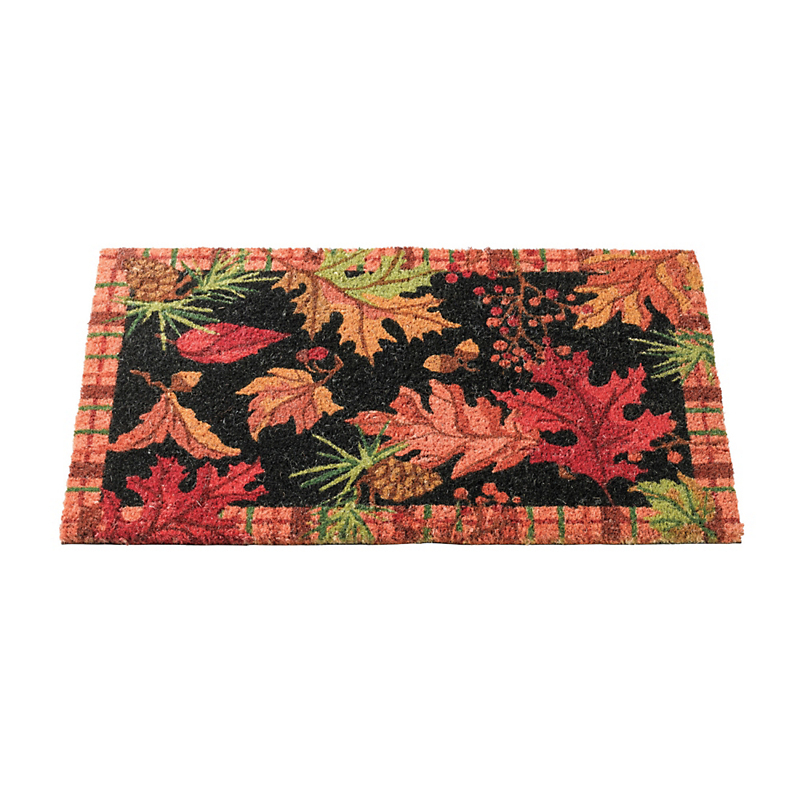 Autumn Leaves Coir Doormat