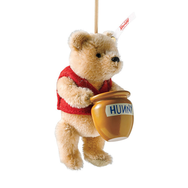 Steiff 100 Aker Wood Winnie-The-Pooh Collectible Ornament
