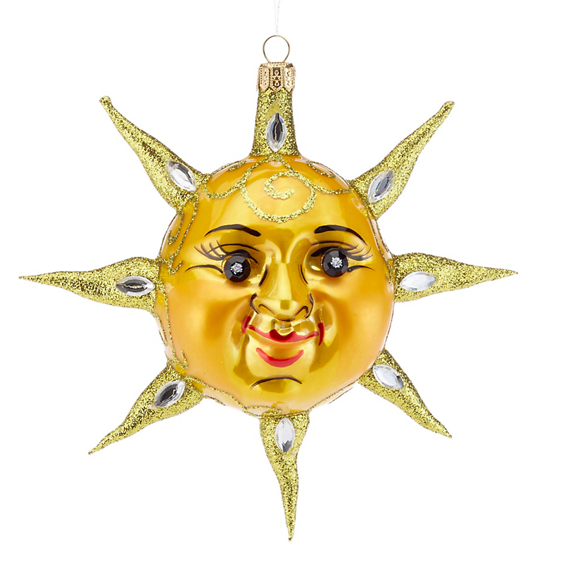Smiling Sun Ornament