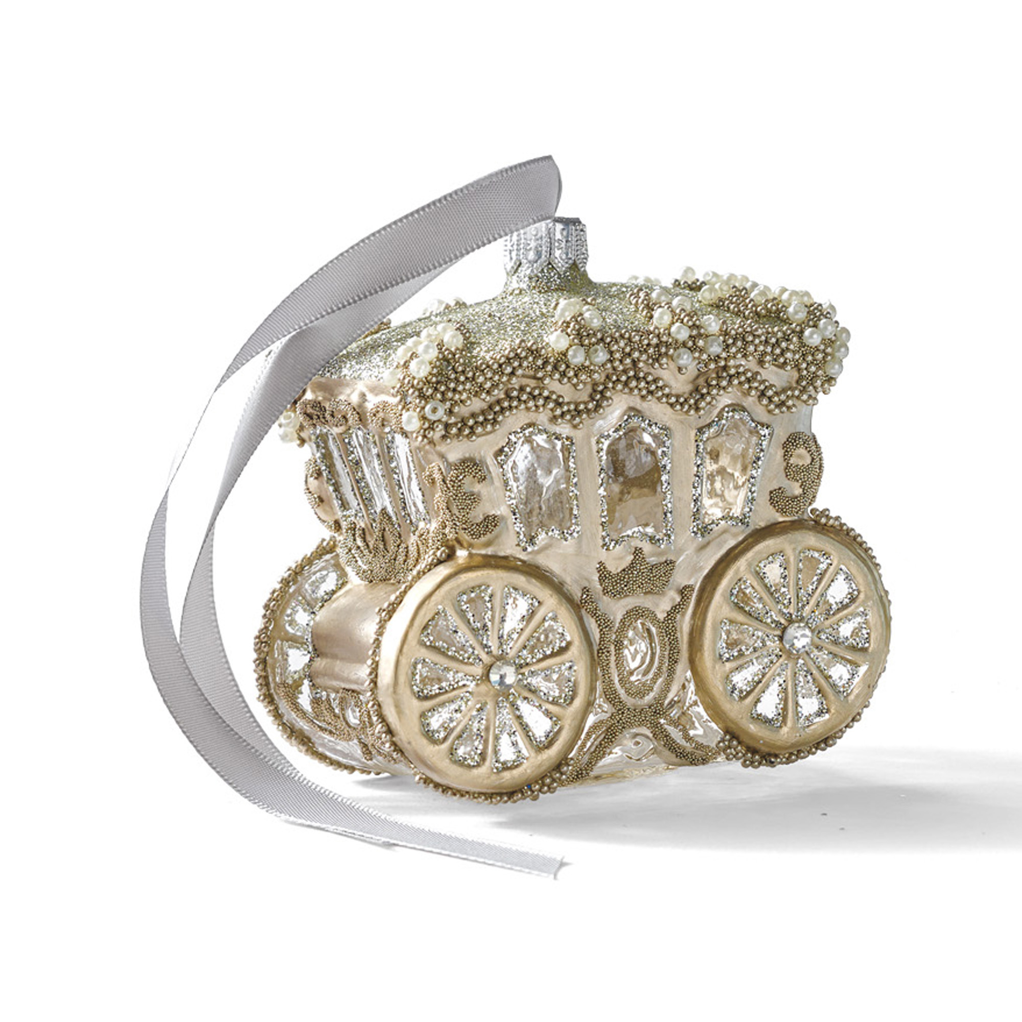 Royal Carriage Christmas Ornament
