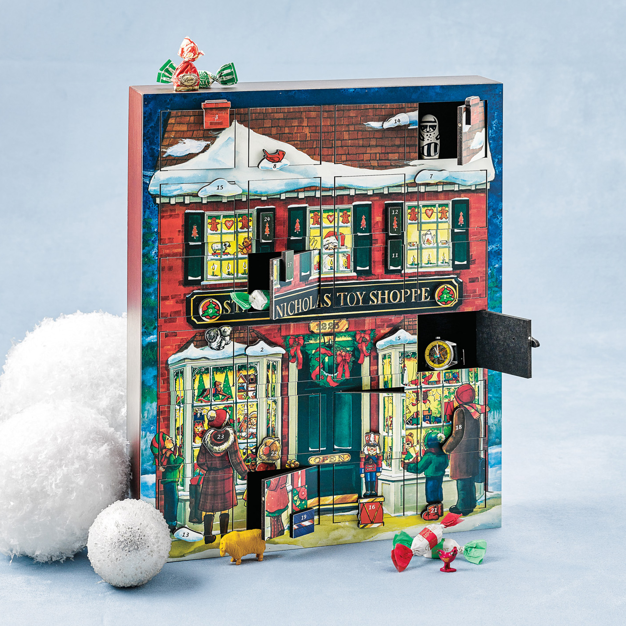 St. Nicholas Toy Shoppe Advent Calendar