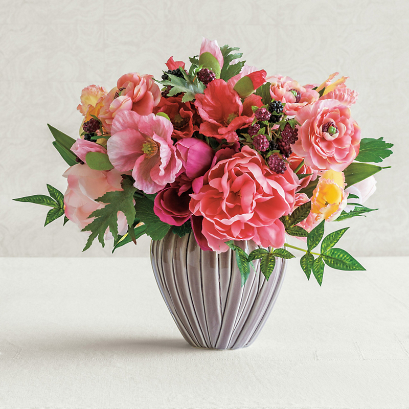 Marietta Arrangement With Ceramic Vase