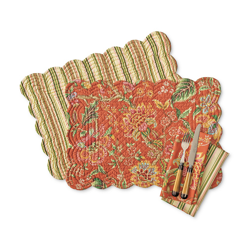 Morrisville Reversible Table Linens
