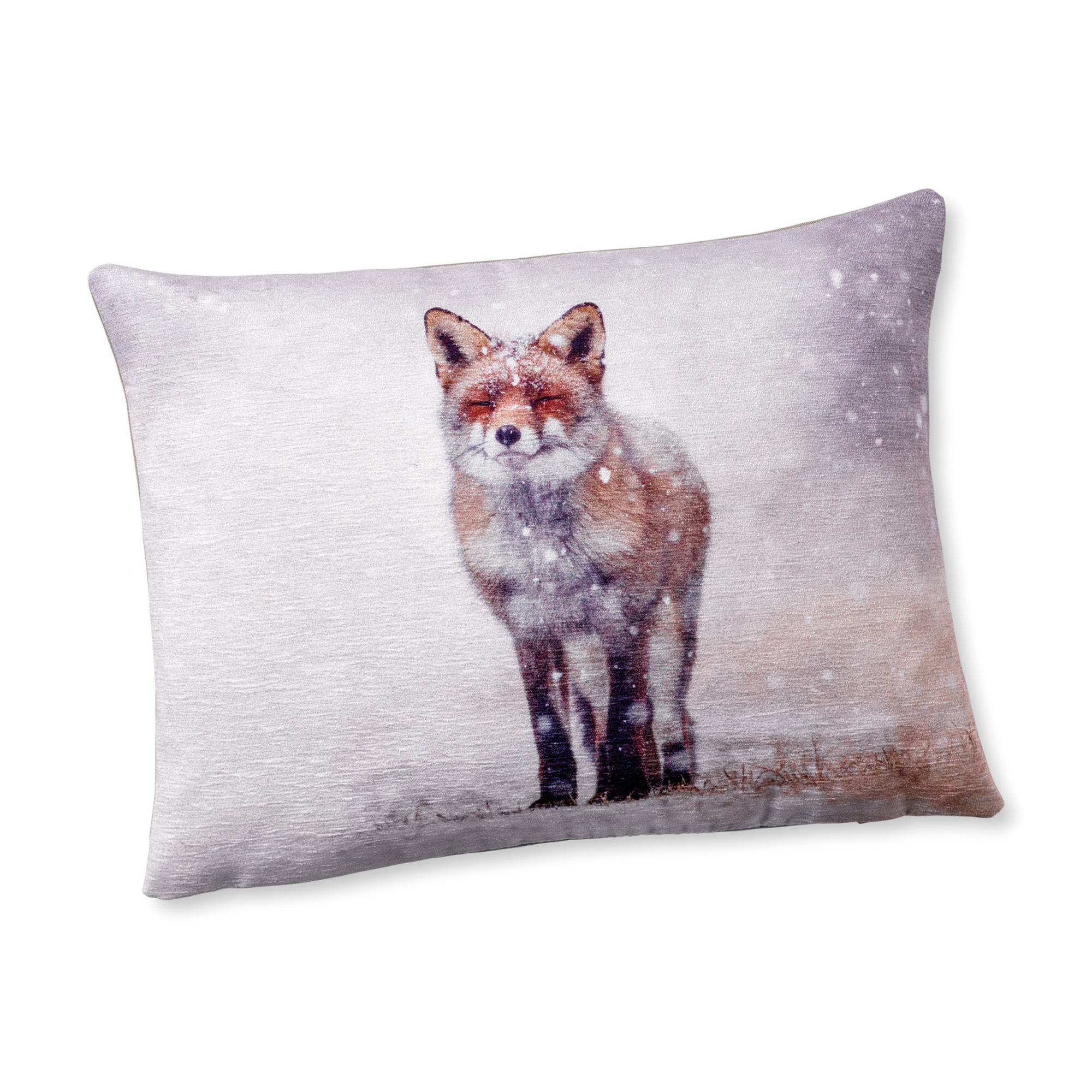 Snow Fox Pillow
