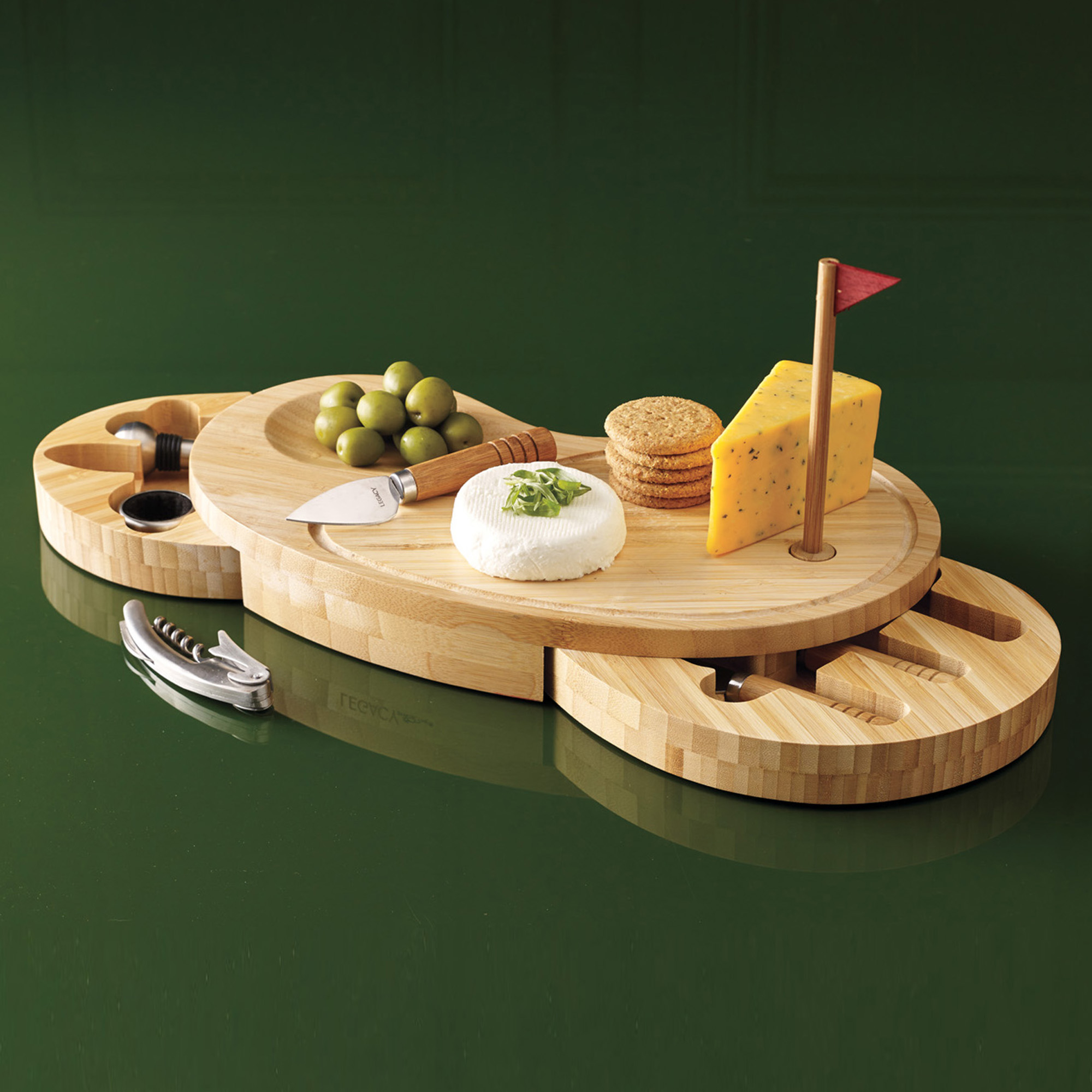 Golf Cheeseboard Set