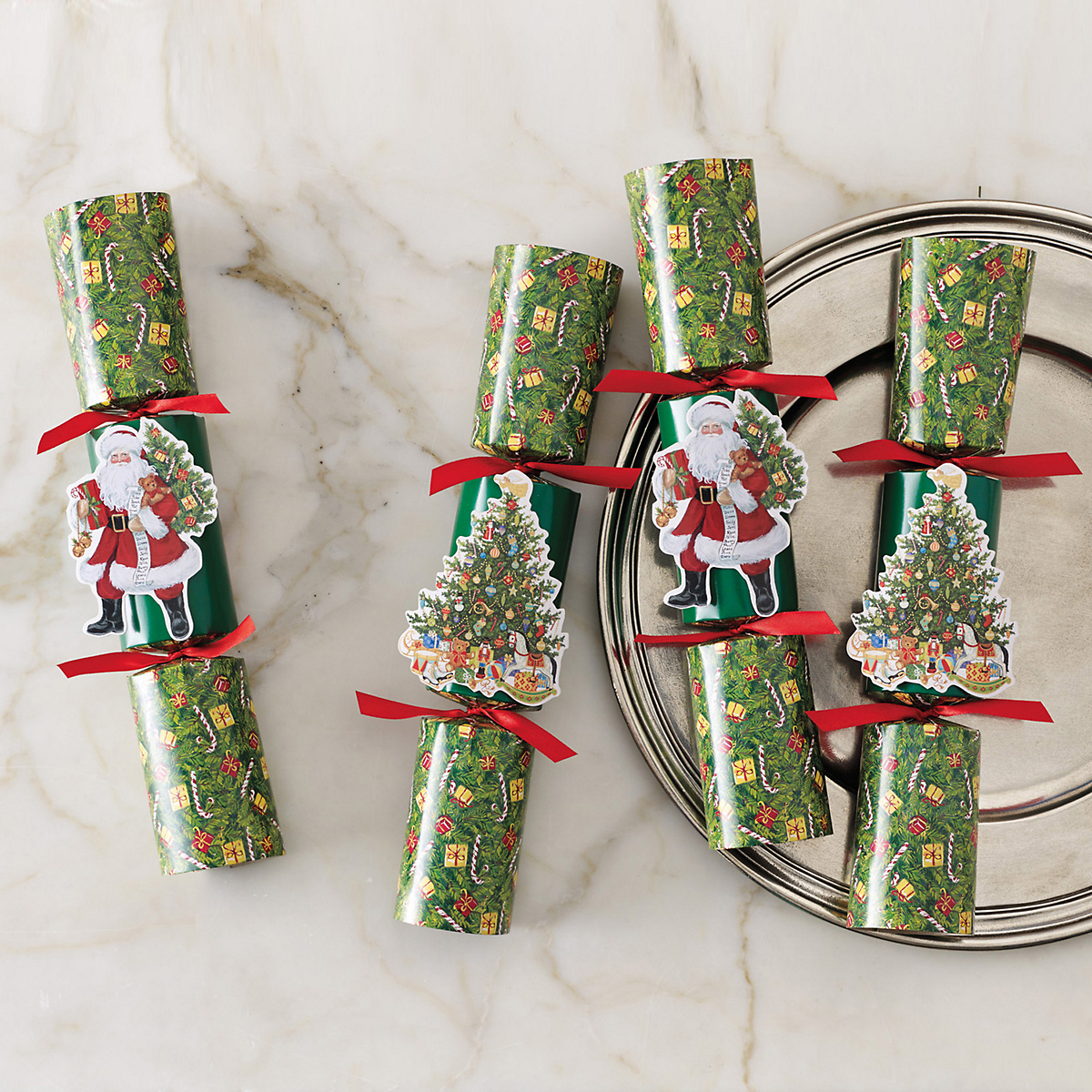Lynn Haney Christmas Crackers, Set Of 6