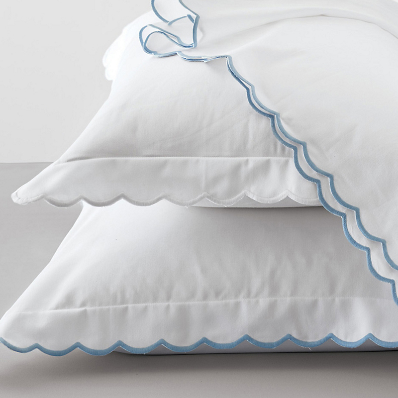 Julia Scalloped Sheet Collection