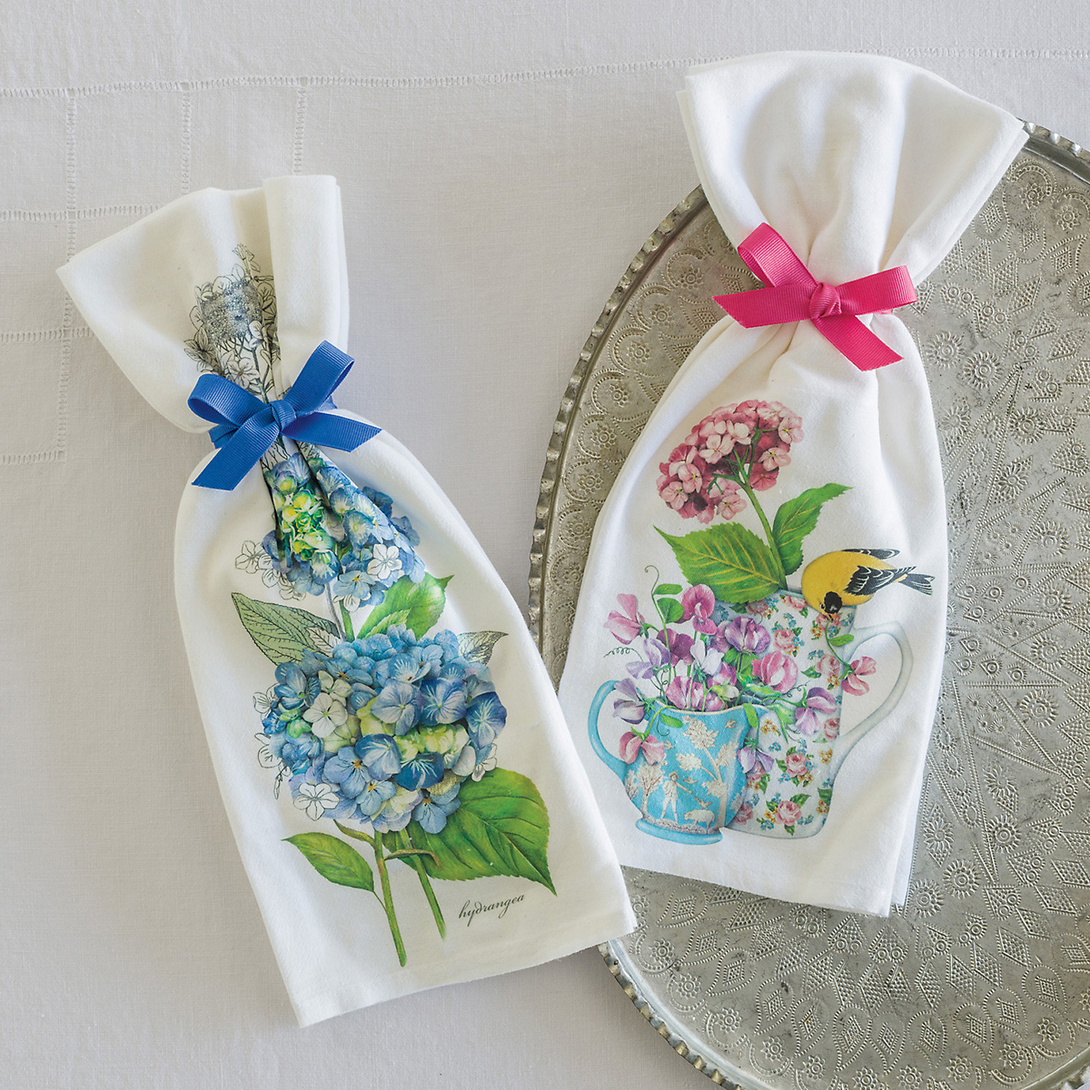 Tea Party Flour Sack Towels
