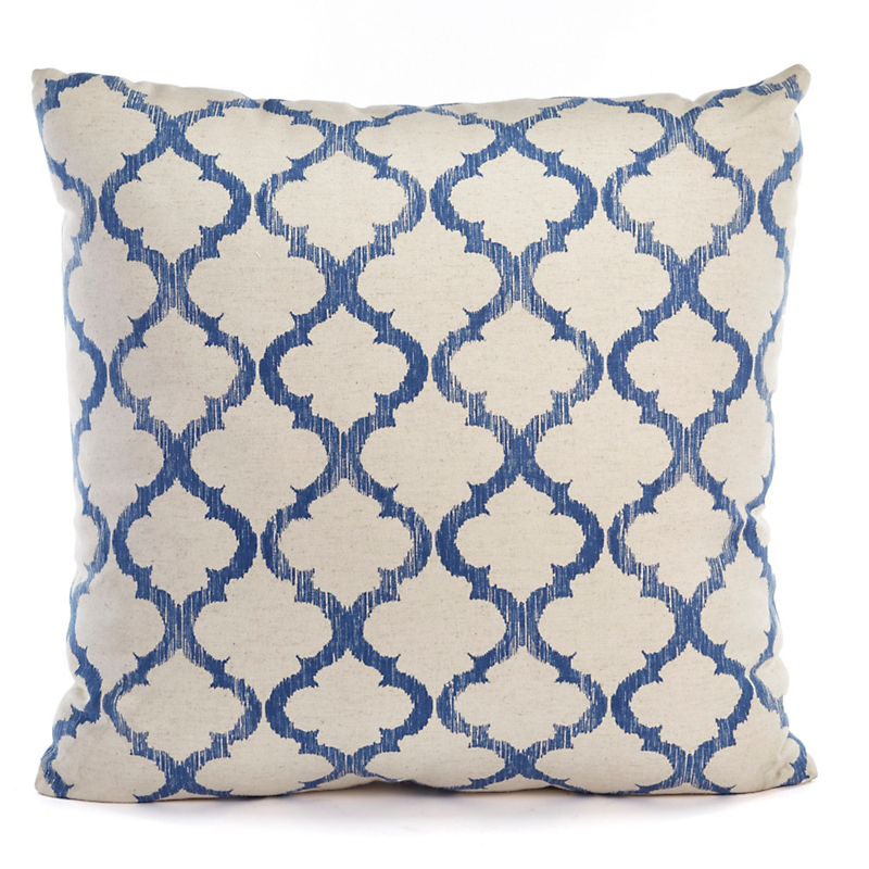 Tile Print Pillow