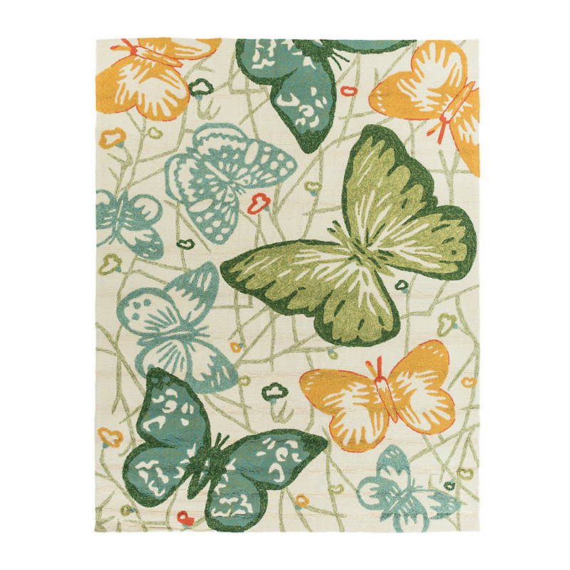 Butterfly Indoor / Outdoor Rug