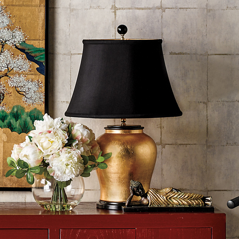 Athena Gold Lamp