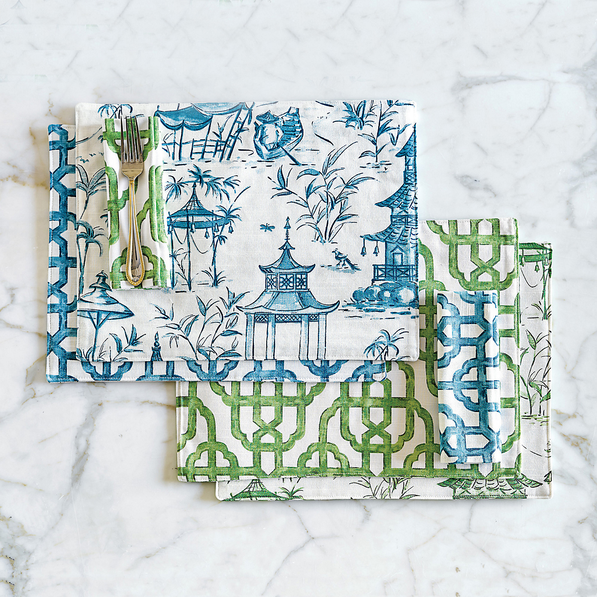 Chinoiserie Table Linens