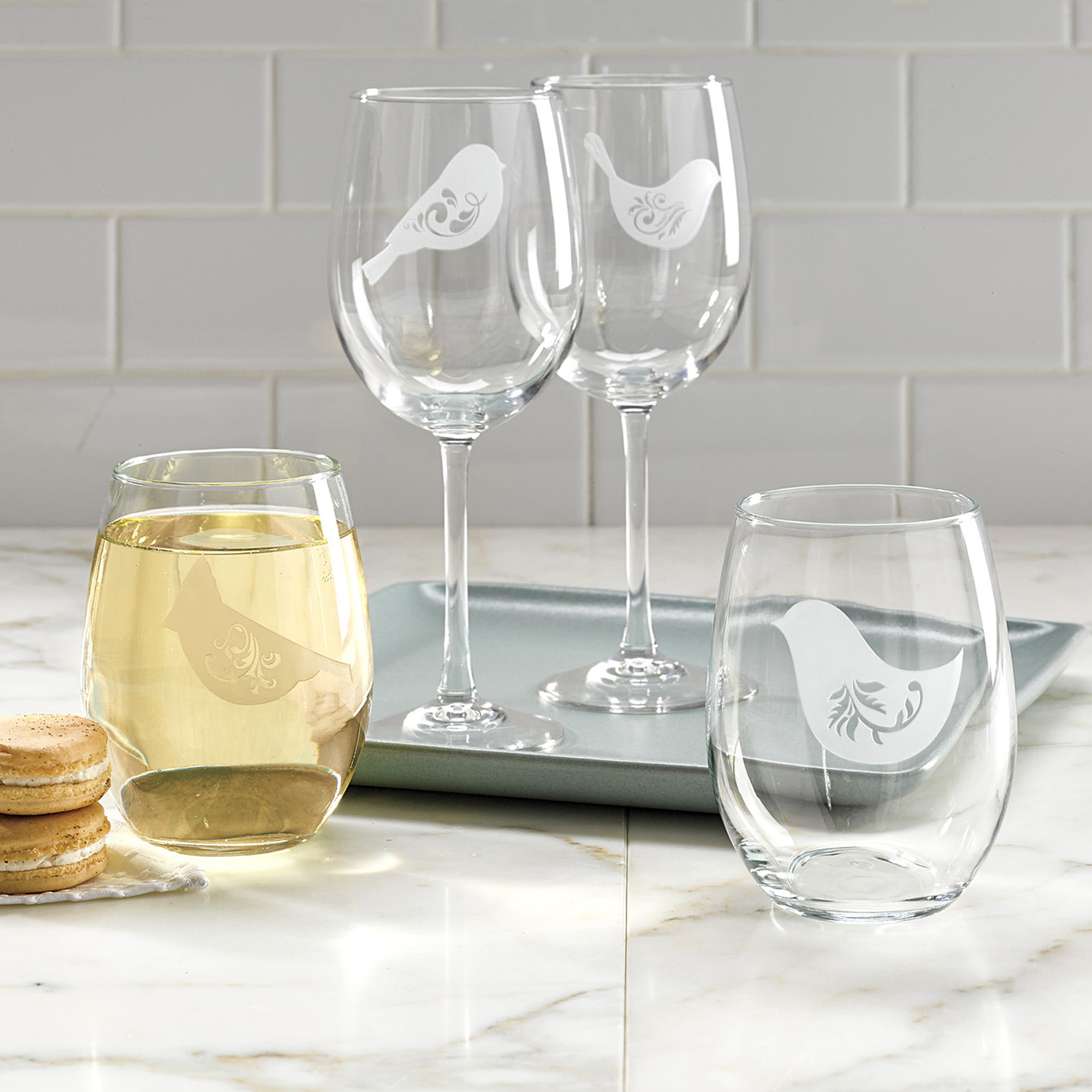Songbird Wine Glasses