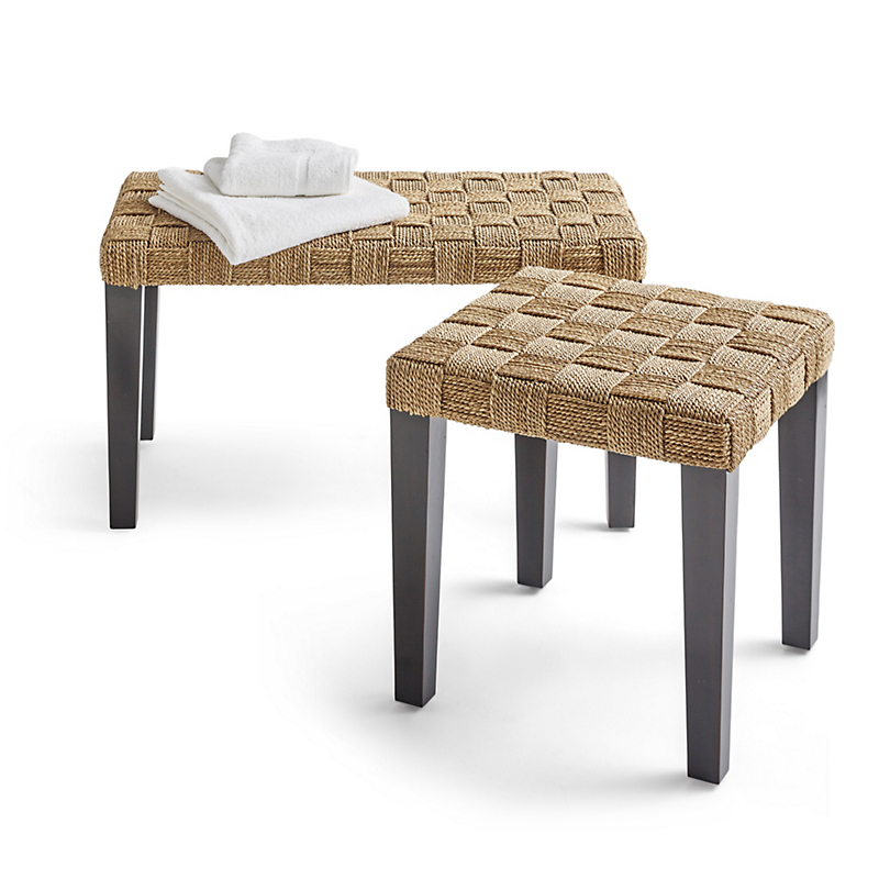 Breydon Seagrass Bench & Stool