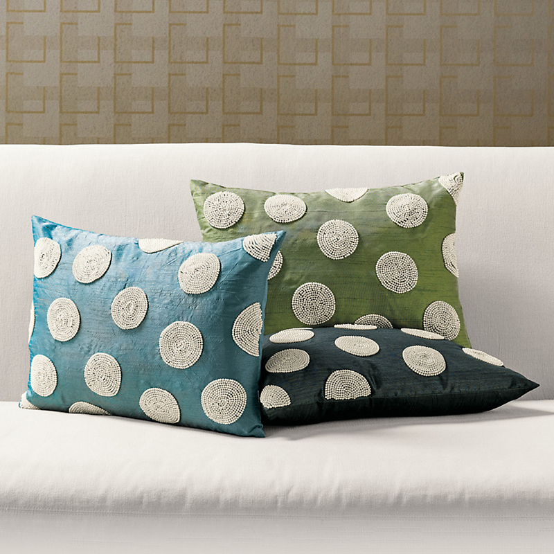 Pearl Dot Pillows