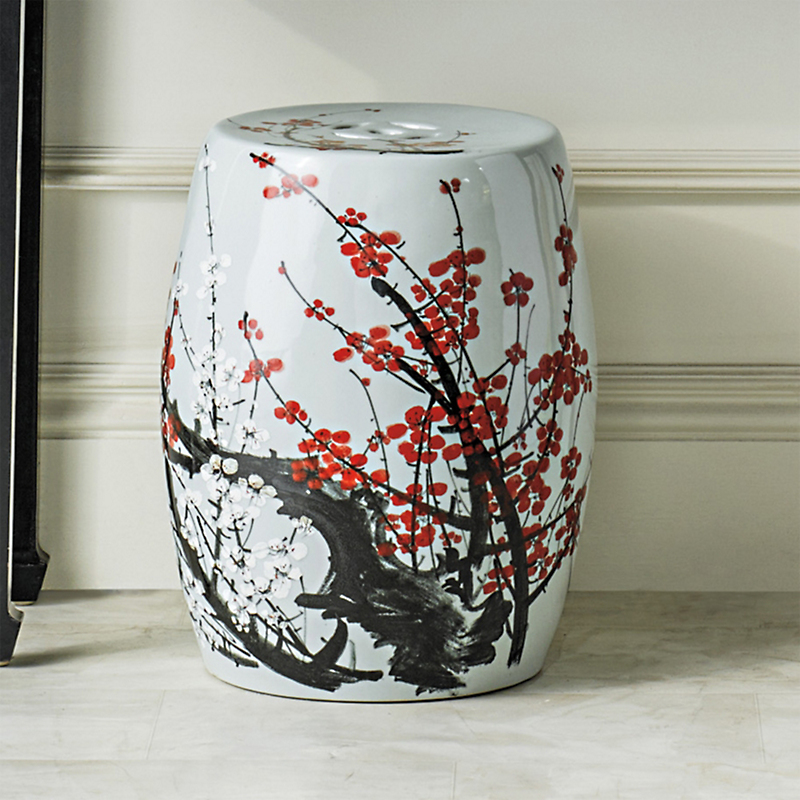 Flowering Plum Garden Stool