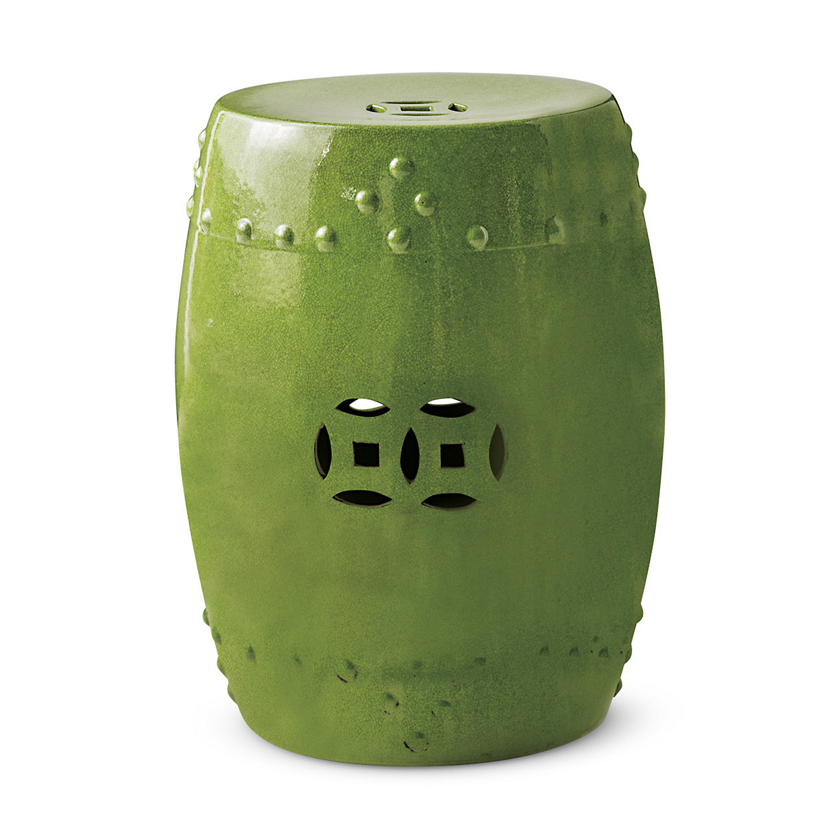 Lime Green Garden Stool | Gump's