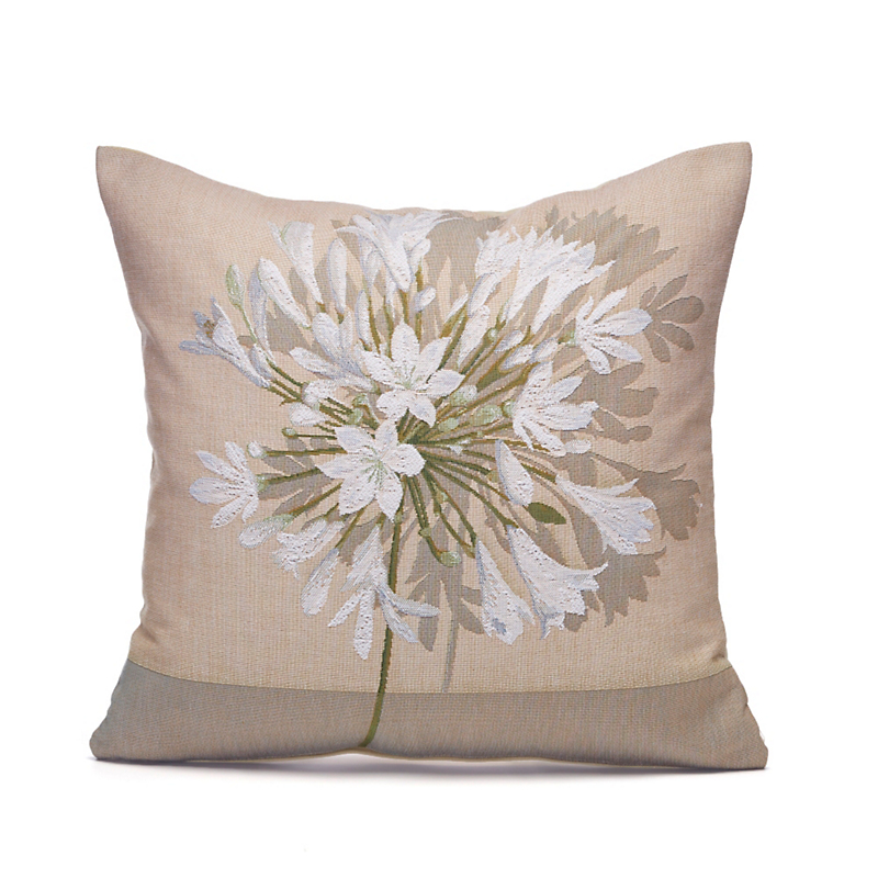 French Tapestry Agapanthus Pillows