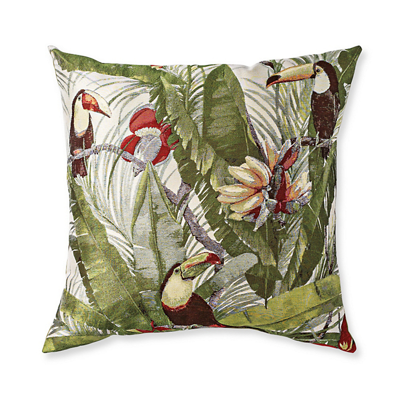 Tropical Jungle Pillow
