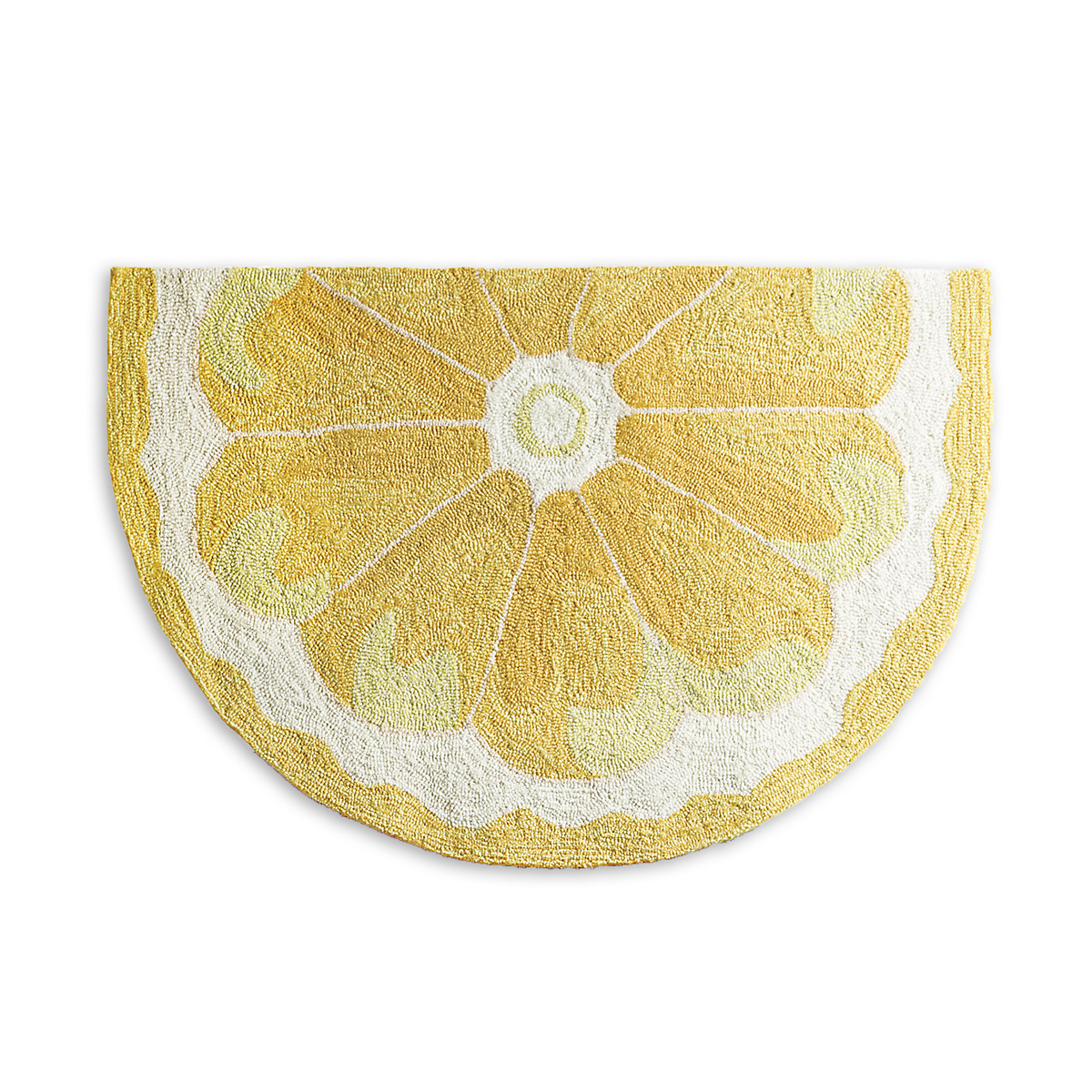 Lemon Fruit Slice Indoor / Outdoor Rug