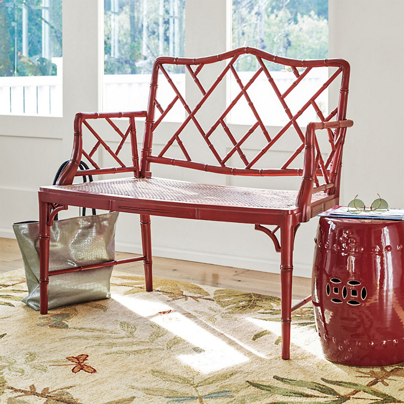 Grayson Bench, Red