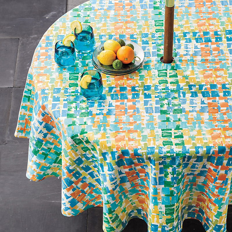 Del Rey Outdoor Tablecloths
