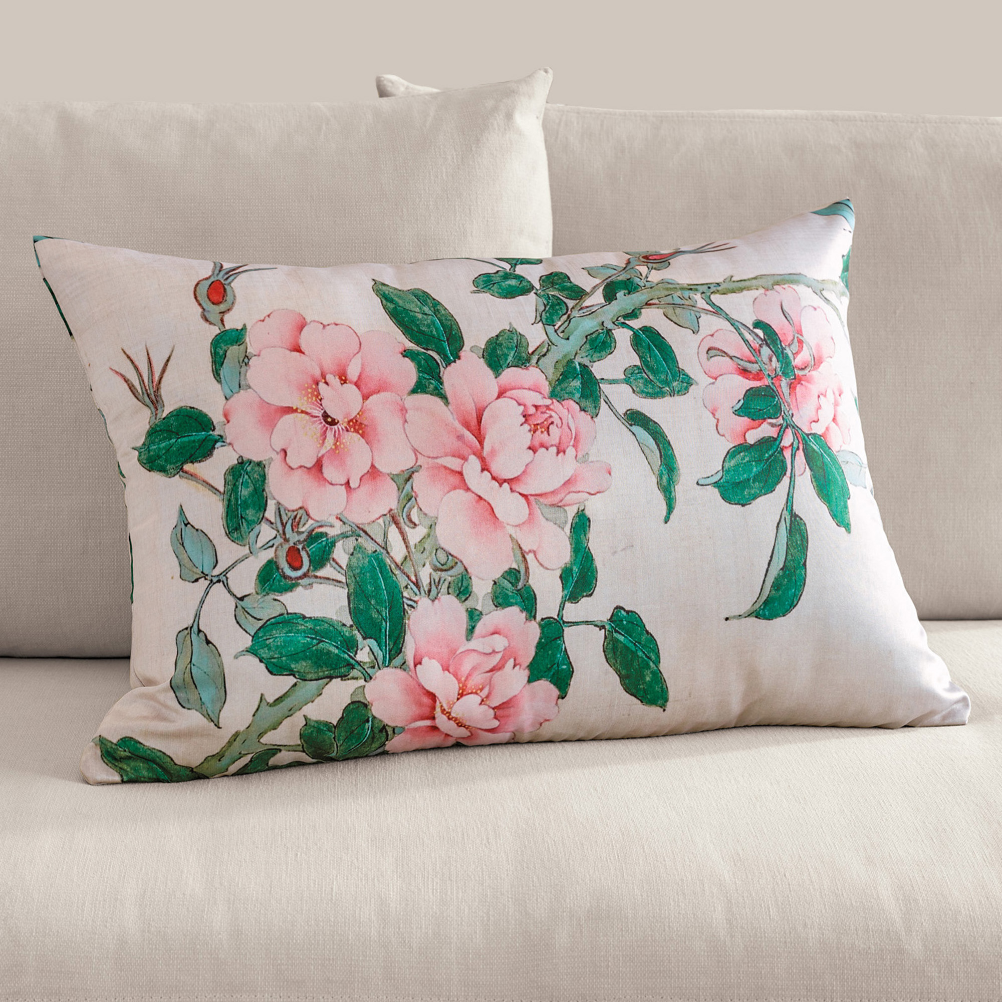 Tea Rose Pillow