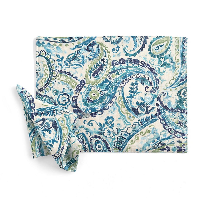 Paisley Table Linens