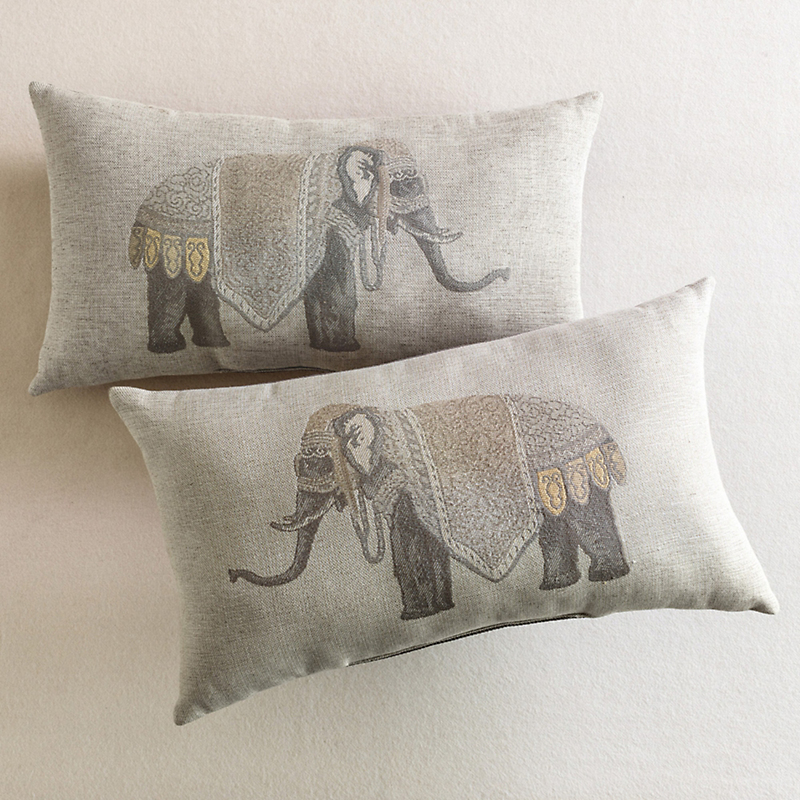 Noble Elephant Pillows