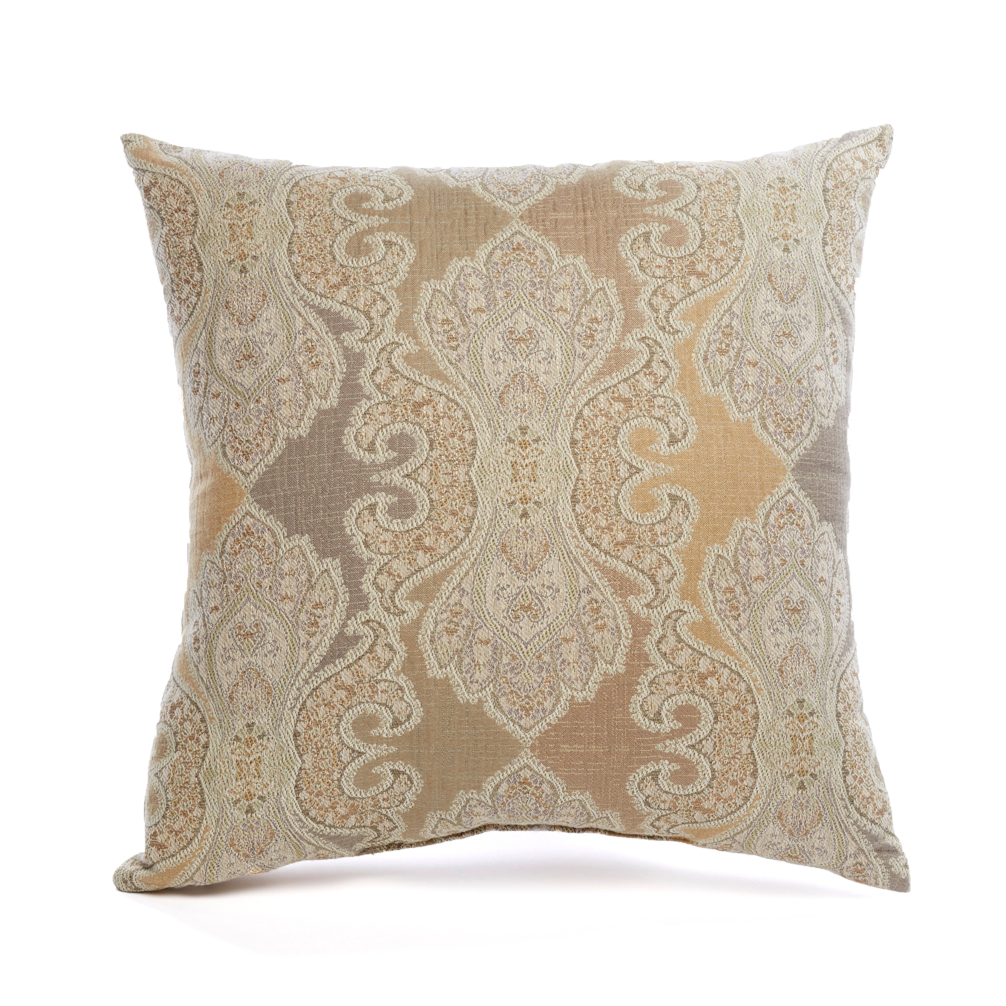 Treasure Trove Paisley Jacquard Pillow
