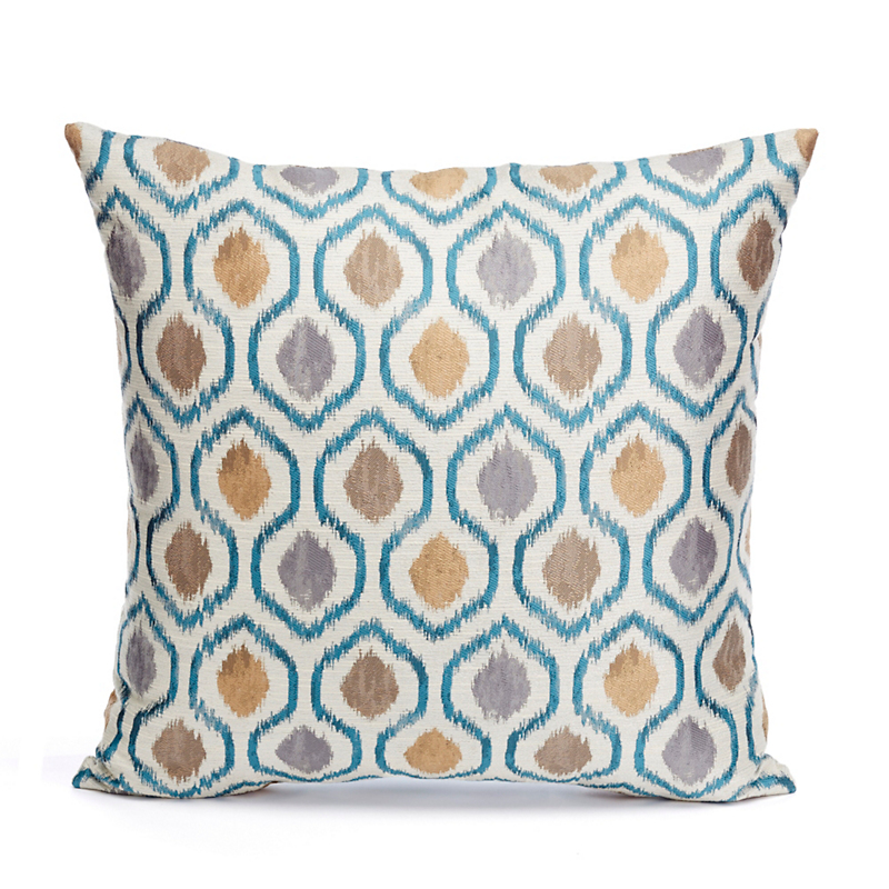 Norwich Ikat Dots Pillow