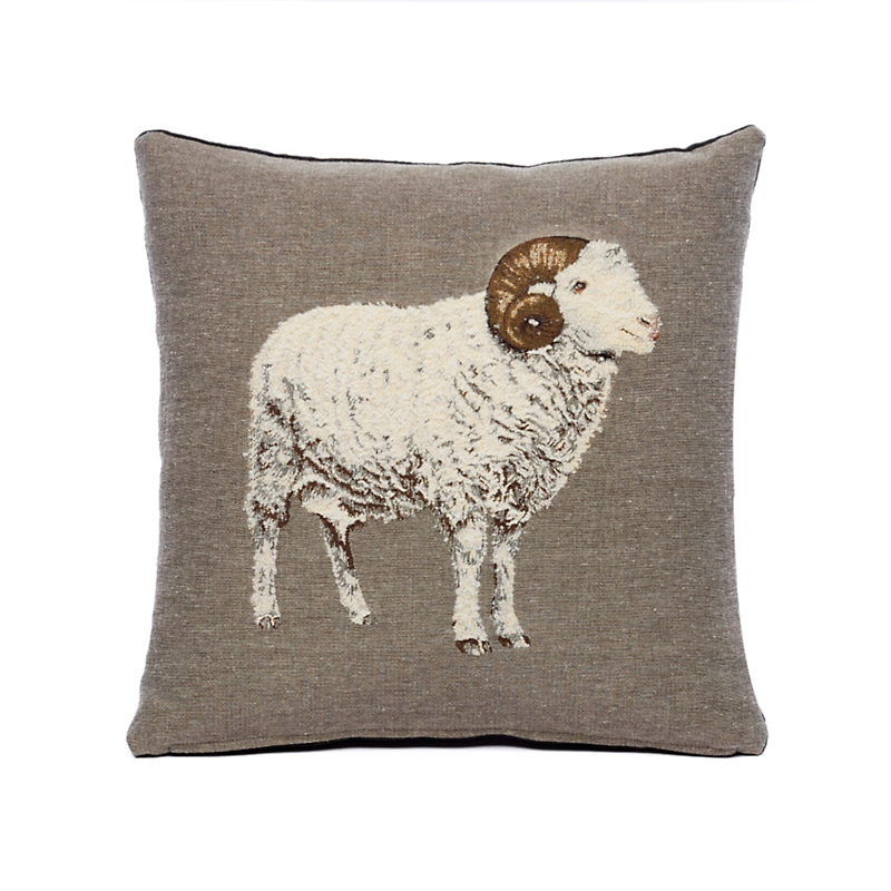 Normandy Ram Pillow