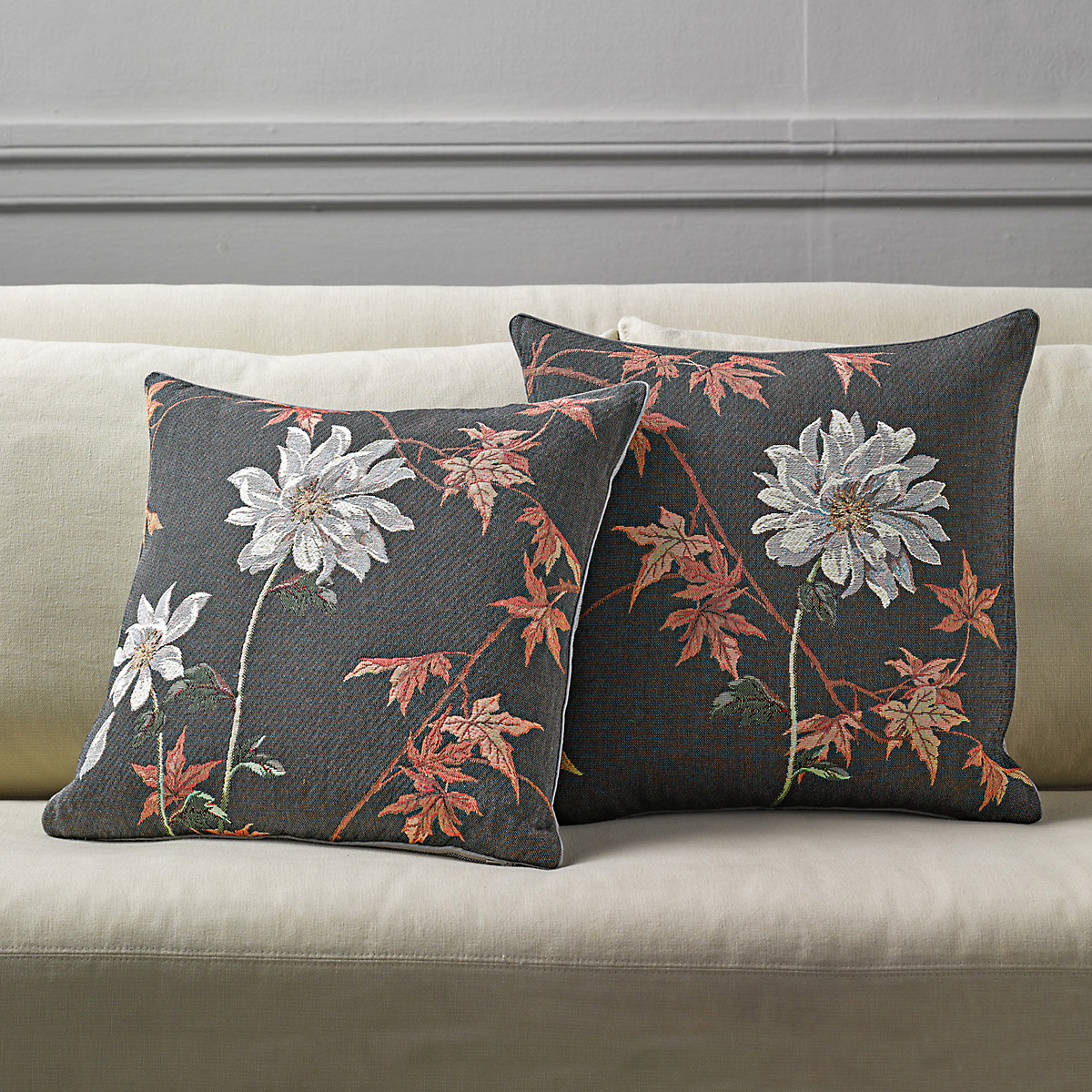 Dahlia French Tapestry Pillows