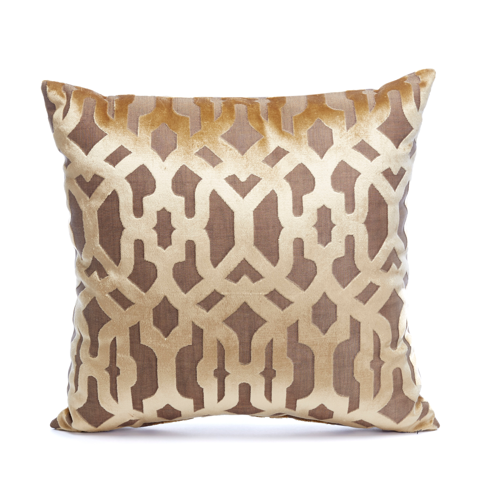 Autumn Garden Gate Pillow