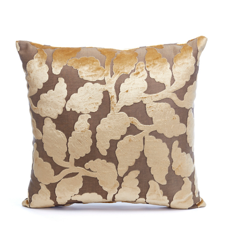 Autumn Garden Leafy Bough Pillow