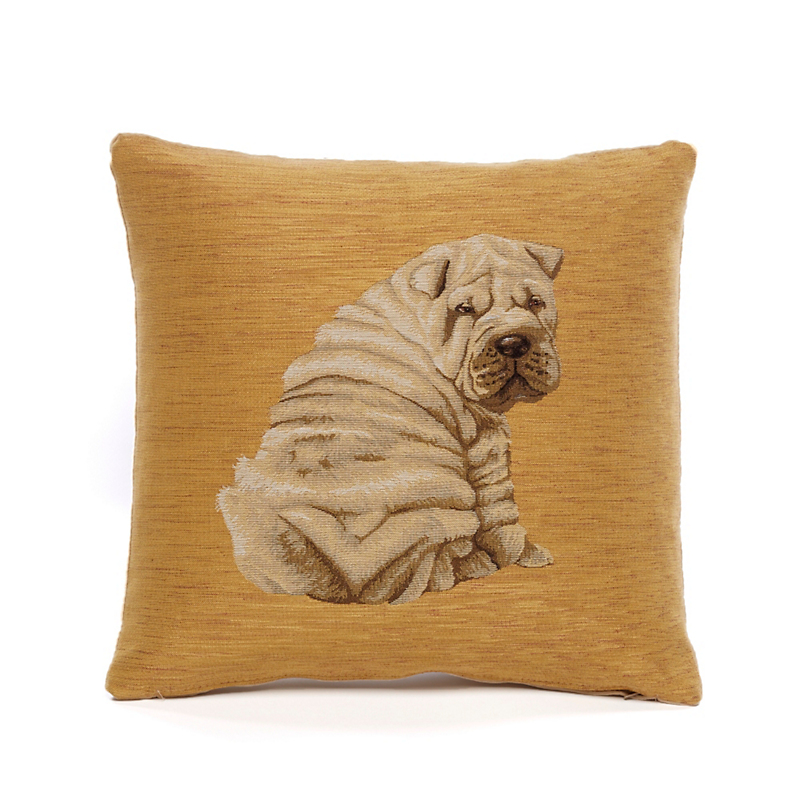 Shar-Pei Looking Back Pillow