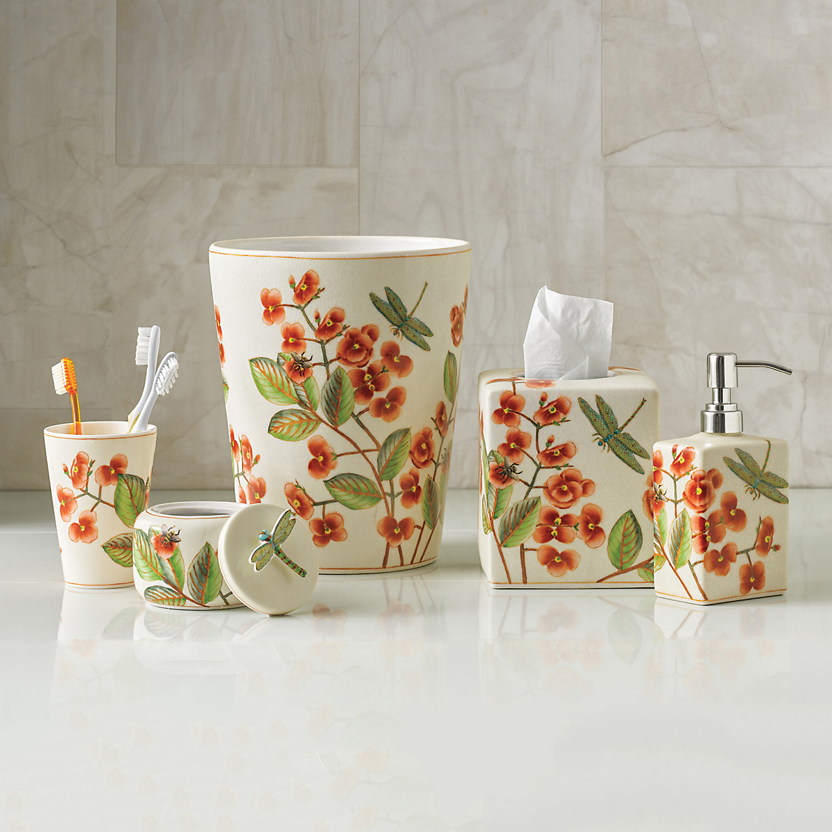Cymbidium Orchid Bath Collection