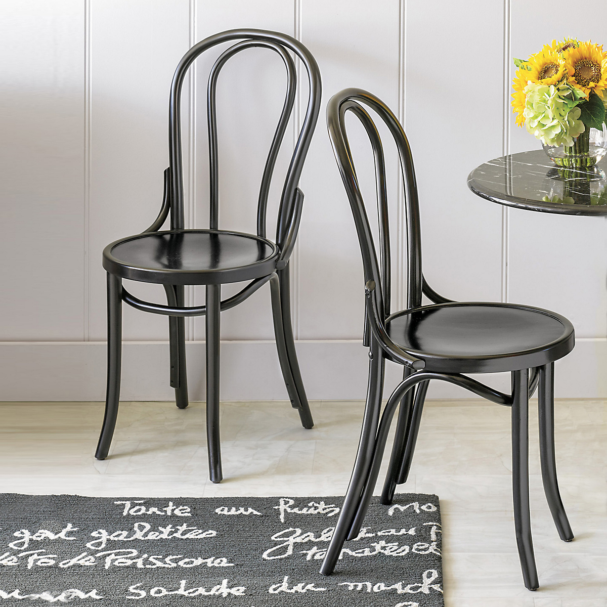 Parisian Bistro Chairs, Set Of 2