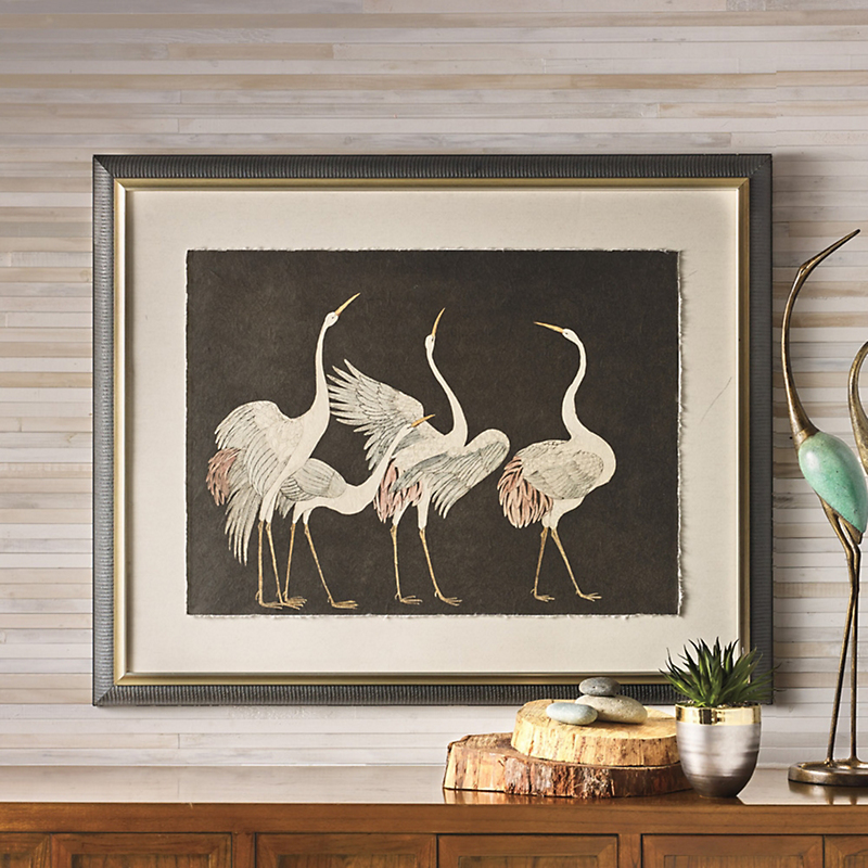 Courting Cranes Artwork
