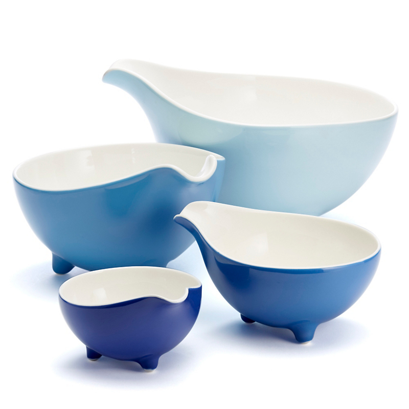 Loveramics Blue Paisley Kitchen Bowls, Set Of 4