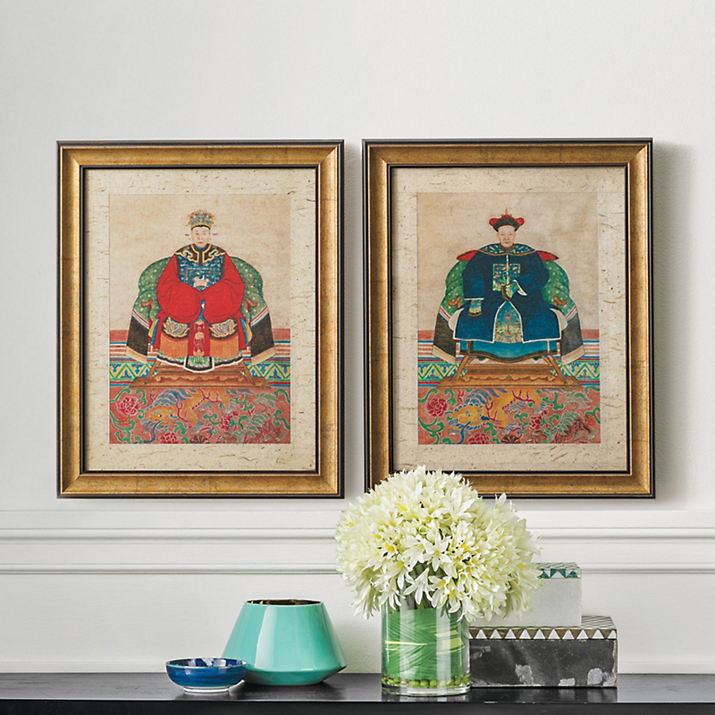 Qing Dynasty Prints