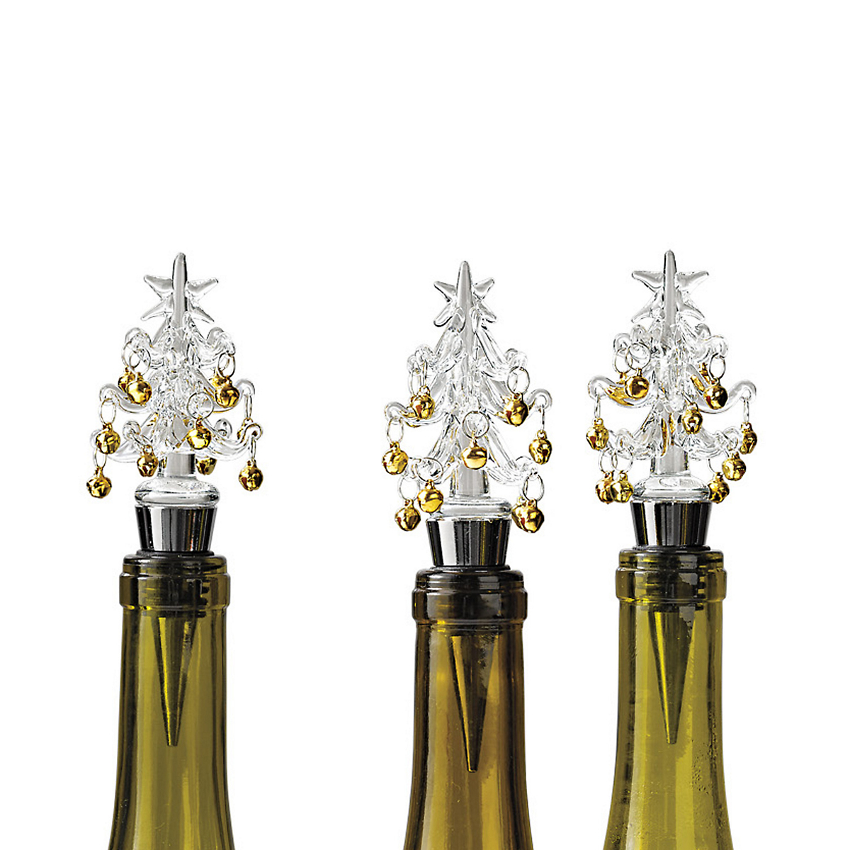 Golden Bell Tree Bottle Stoppers