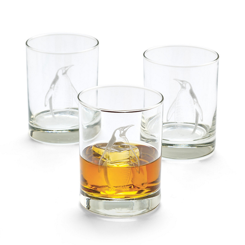 Penguin Double Old-Fashioned Glasses