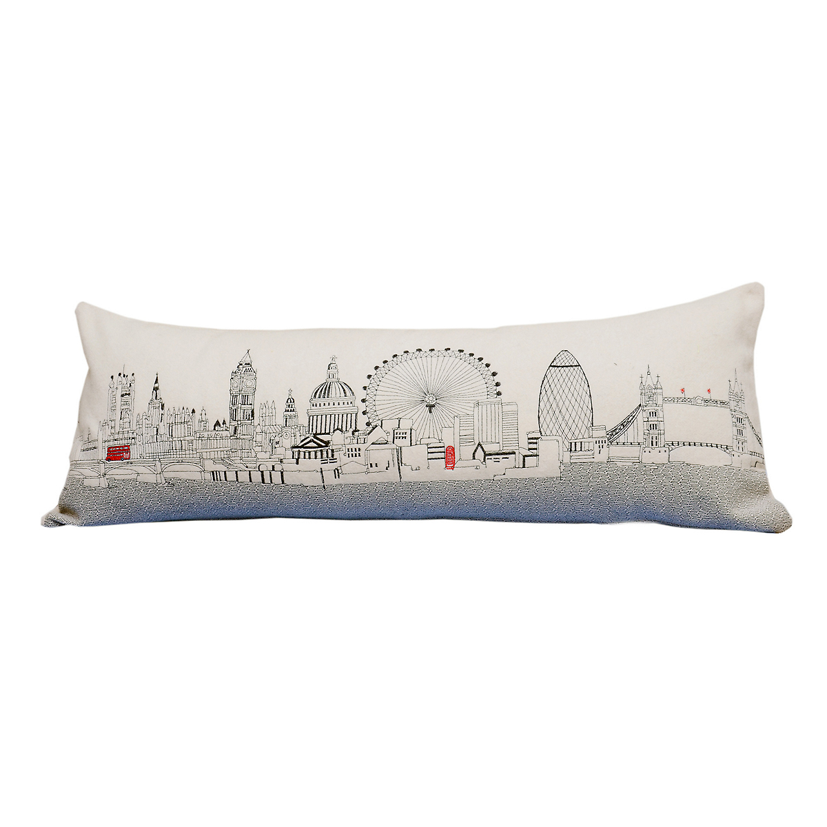 London Skyline Pillow Gump S