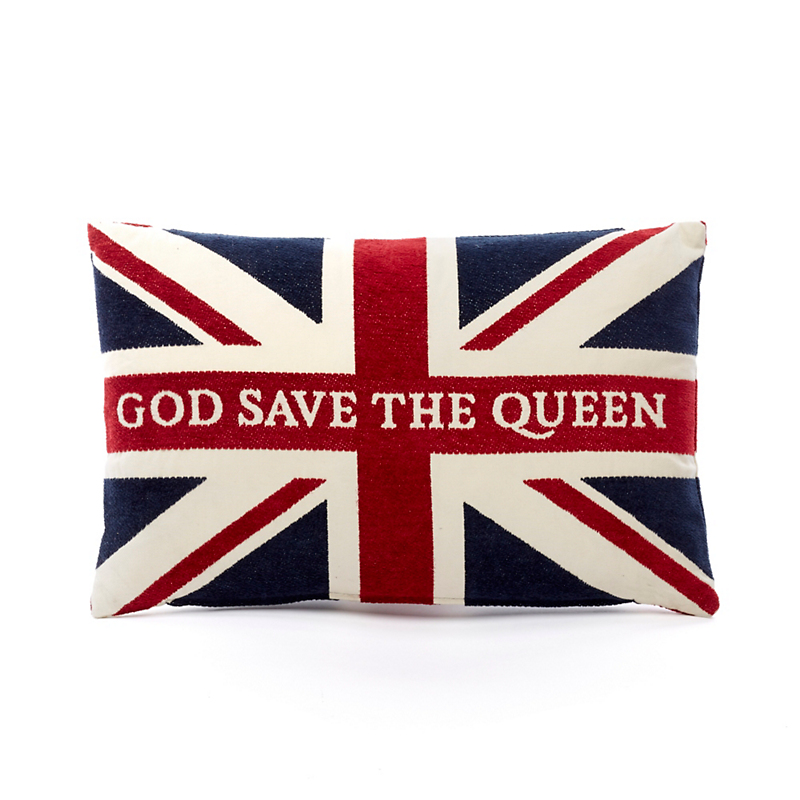 'God Save The Queen' Pillow