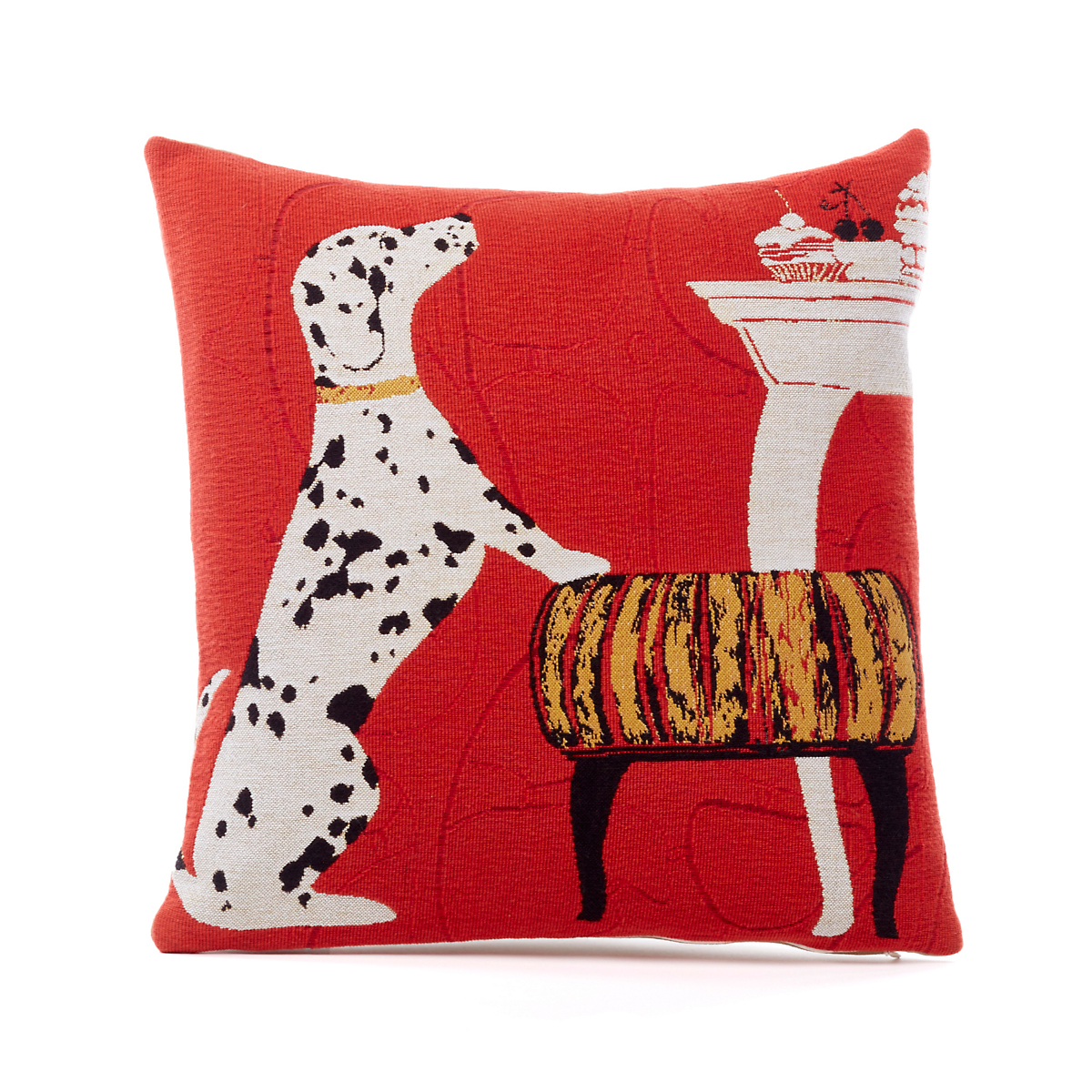 French Tapestry Dalmation Pillow